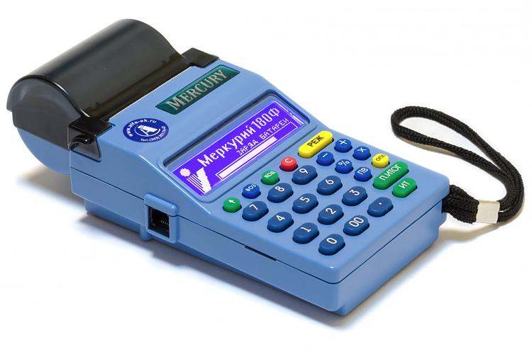 Кассовый аппарат (ККМ) Меркурий-180Ф GSM и WI-FI